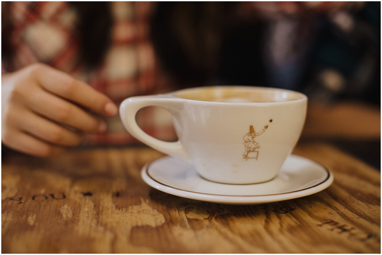 A cup of coffee Seattle Wedding and Elopement Photographer Kyle Szeto