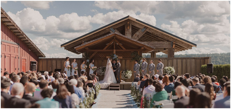 thomas family farm seattle s nohomish wedding ceremony