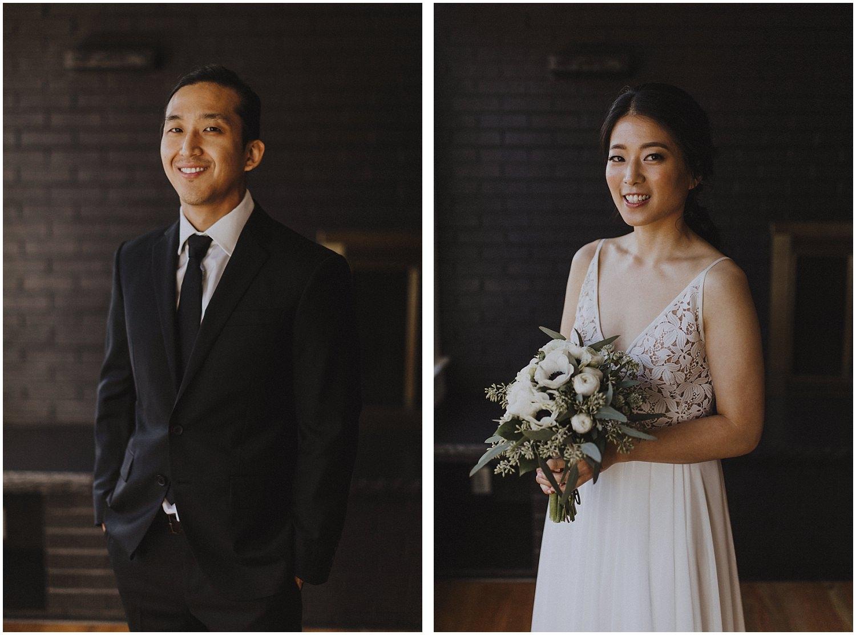 bride and groom smiling Chicago wedding photographer kyle szeto
