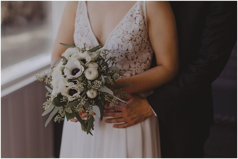 bridal wedding bouquet Chicago wedding photographer kyle szeto
