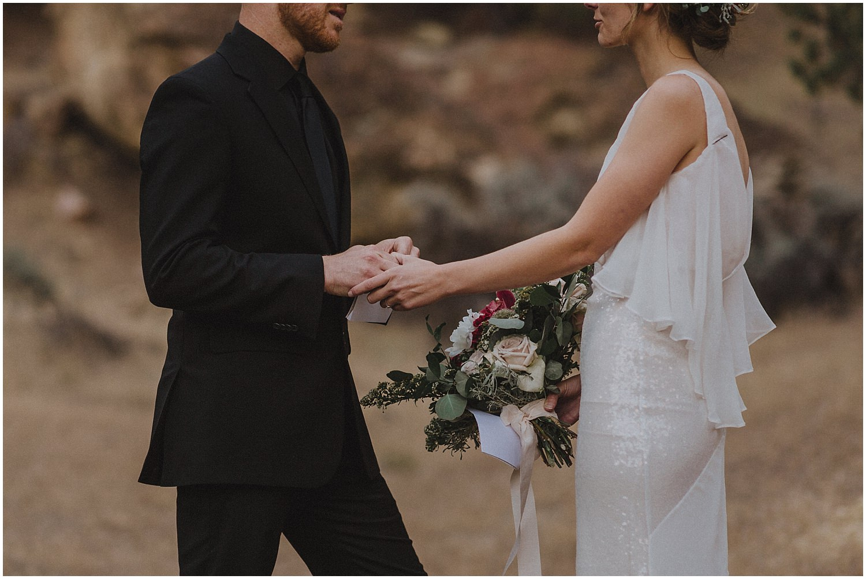 wedding couple holding hands oregon elopement and wedding photographer kyle szeto