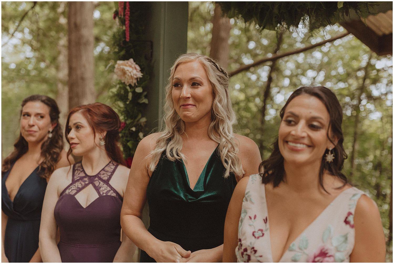 bridesmaids smiling wisconsin wedding elopement photographer kyle szeto