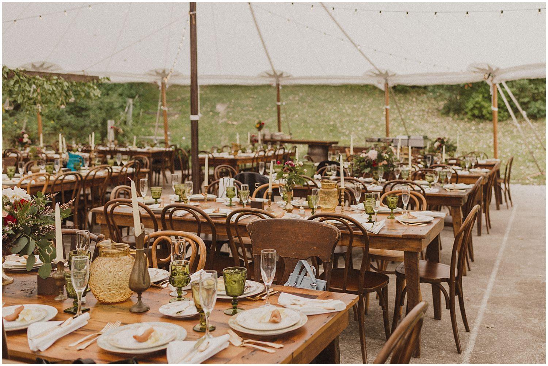 camp wandawega reception setting wisconsin wedding elopement photographer kyle szeto