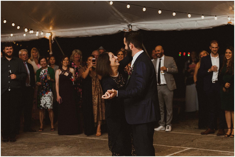 mother son dance wisconsin wedding elopement photographer kyle szeto